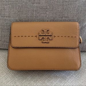 TORY BURCH McGraw Cross-Body Baguette Color